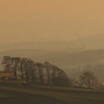 Misty Sunset in the Yorkshire Dales
